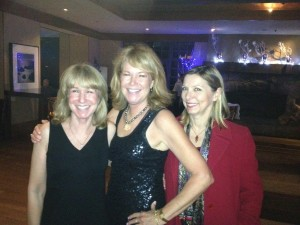 Maria - New Years Eve 2013 with sister Teri and sorority sister Marianne